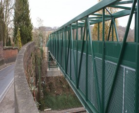 Pedestrian Rail Bridge