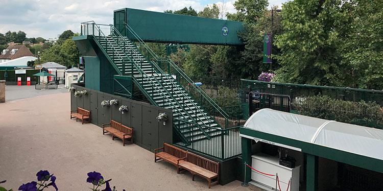 Bridge for the Wimbledon Tennis Championships