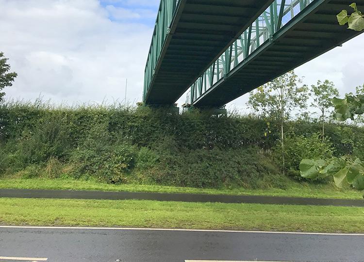 Access Bridge for Creamfields 2017   Mitchell Bridges